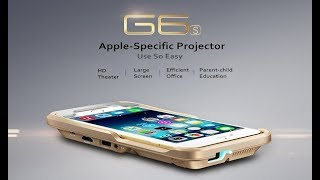 Video G6S Portable Projector for iPhone 8 X 6 7 7S Plus download MP3, 3GP, MP4, WEBM, AVI, FLV Agustus 2018