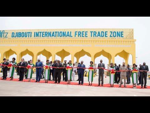 President Kagame inaugurates Djibouti International Free Trade Zone