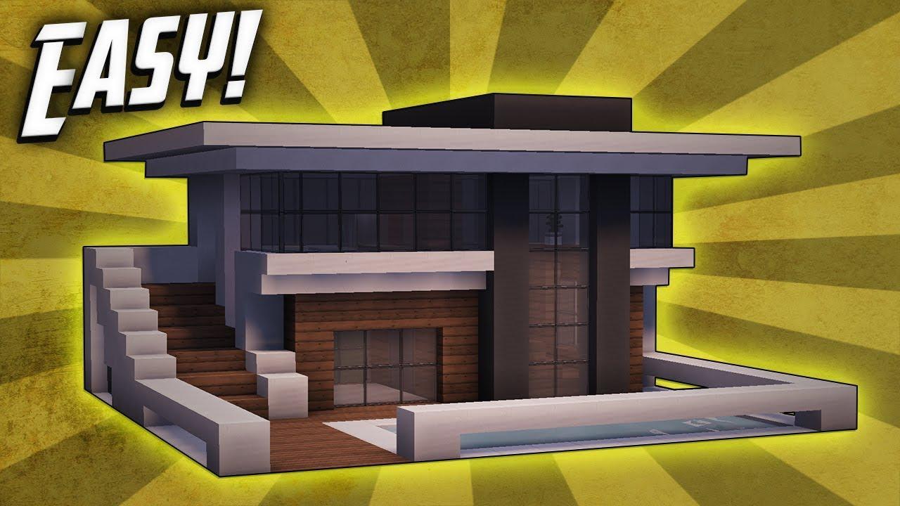 Minecraft modern house ideas for Build big modern house on minecraft
