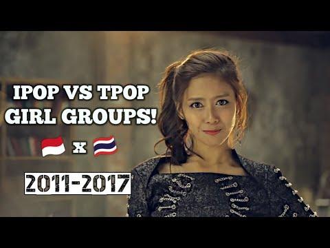 Indo-pop VS Thai-pop Girl group!