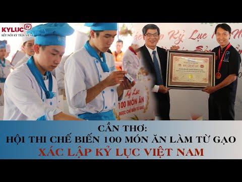 VIETKINGS: Kỷ lục Việt Nam - Chế biến 100 món ăn từ gạo và các sản phẩm làm từ gạo