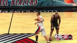 NBA 09 The Inside Miami Heat vs Portland Trail Blazers