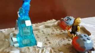 Lego Mortal Kombat Scene-Sub Zero vs Scorpion обзо