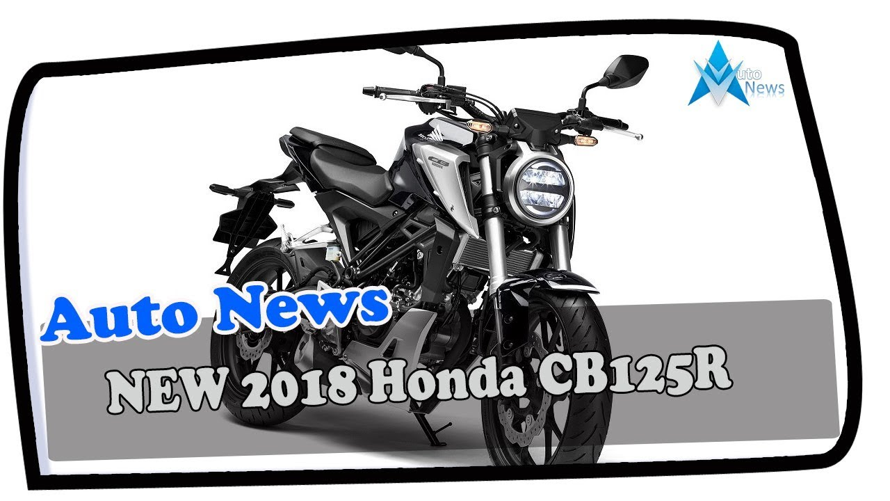 Hot New 2018 Honda Cb125r Awesome Retro Bike Neo Sports Cafe