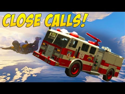 Flying Fire Truck! (Close Calls #64)