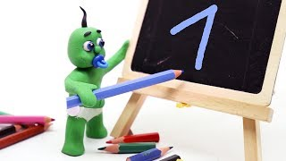 Green Baby Learn to Write 🔢 Numbers