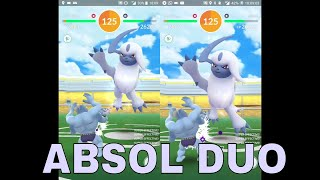 """Cover images 雙人""""挑戰""""阿勃梭魯 Yes, this is my first Absol Duo after all these months"""
