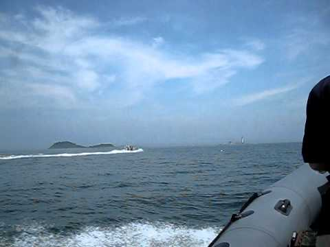 Boston Harbor Rigid Inflatable Boat (RIB) Tour (Little Brewster Island)