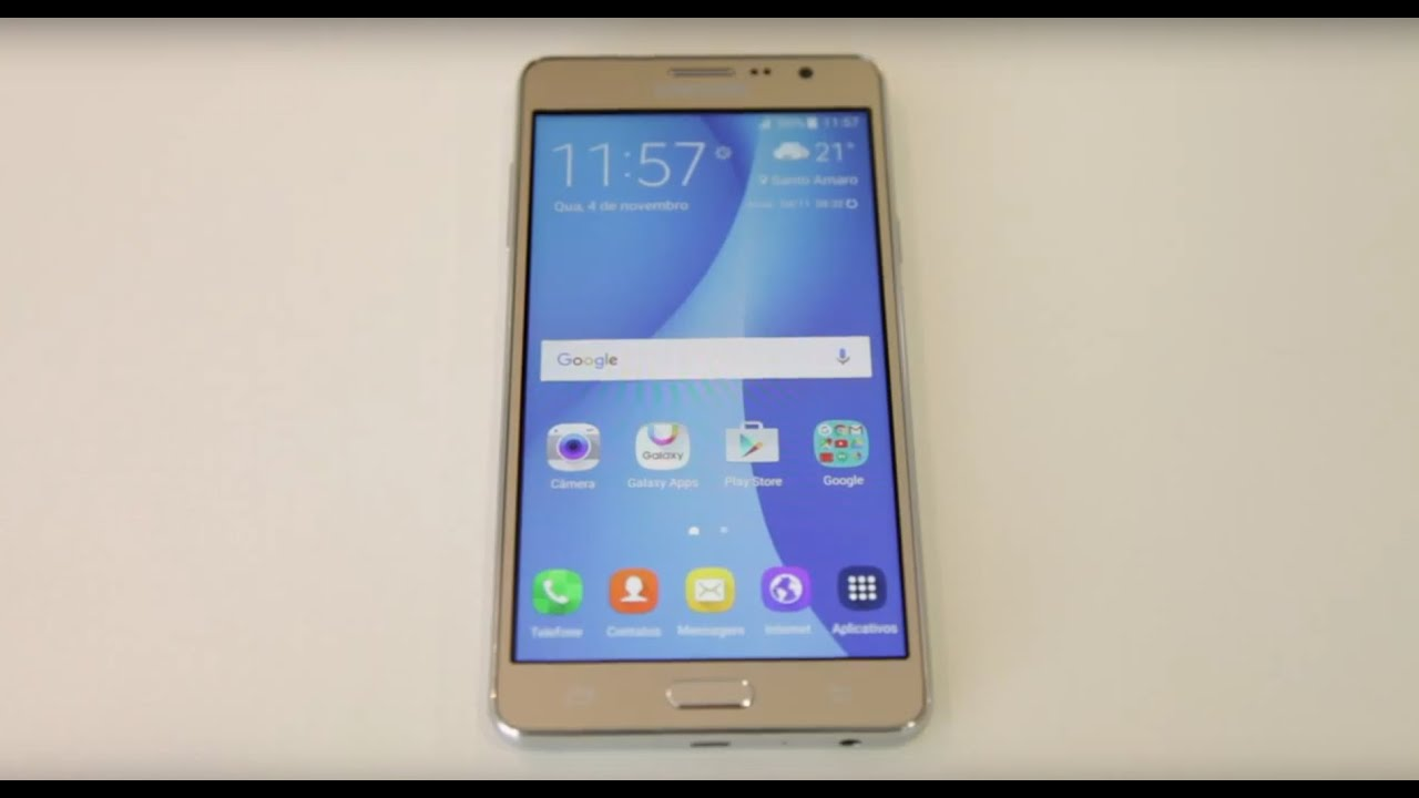 ae06959da Samsung apresenta o Galaxy On7 - YouTube