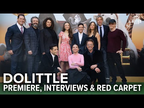 Dolittle: Movie Premiere, Interviews & Red Carpet | Extra Bu