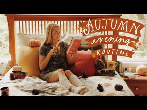 COZY FALL NIGHT ROUTINE    atmospheric & autumnal evening 🍁
