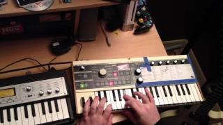 EELS & ESCALATORS (I SPEAK IN CALCULUS) - SYNTH PLAY ALONG