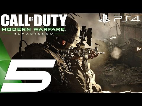 Call of Duty Modern Warfare Remastered (PS4) - Gameplay Walkthrough Part 5 - All Ghilled Up ...