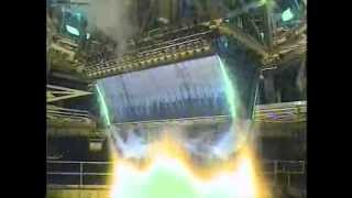 XRS-2200 Linear Aerospike Engine Test fire at NASA Stennis Space Center (SSC)