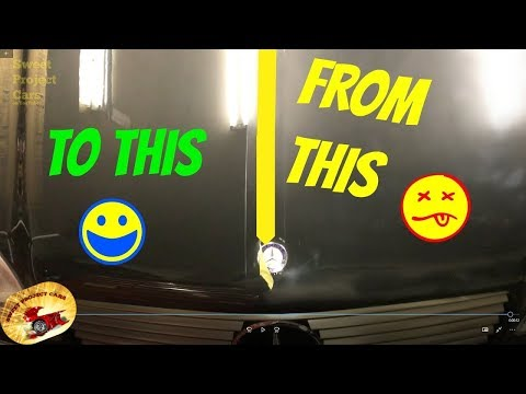 HOW TO SHINE THE WORST PAINT EVER!.....Mind Blowing Results!