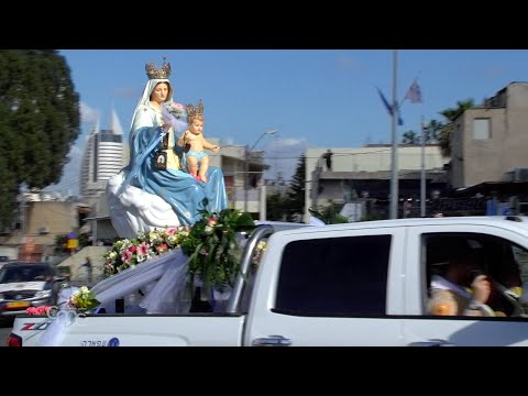 blessed-virgin-of-mount-carmel-in-haifa:-the-route-of-the-procession-changed