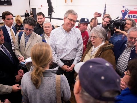 Jeb Bush Confronted by College Student: