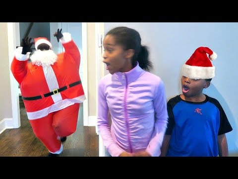 Thumbnail: Bad Baby Santa Claus ATTACKS! Christmas Present EXPLOSION - Onyx Kids