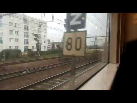 RER C - Versailles Chantiers  to Massy Palaiseau (Train in Paris)