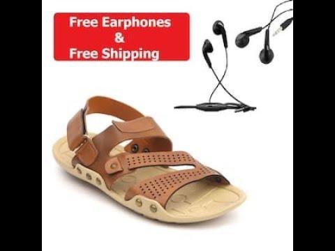 ec174ea89f88 Nexa men Tan sandals   floaters