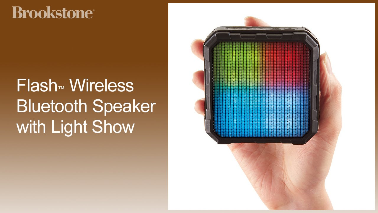 Flash™ Wireless Bluetooth Speaker with Light Show How to Use Complete Video