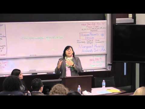 "Margaret Huang, ""Human Rights at Home..."""