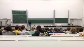 Eine Vorlesung aus Mathe 2 - Uni Köln - Prof. Igor Burban