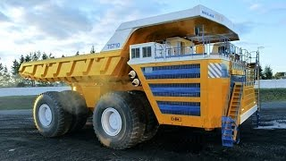 The world's largest dump truck, the BelAZ 75710 | Extraordinary Engineering