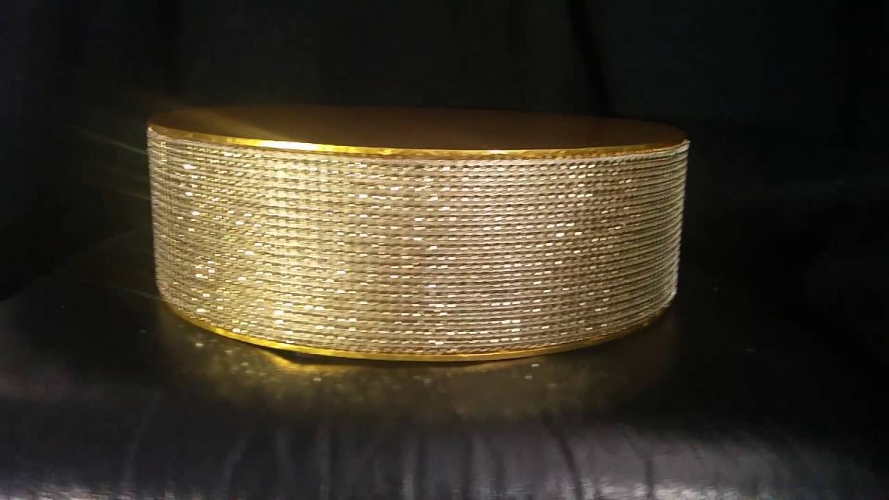gold bling wedding cake stand gold diamante cake stand no mirror 14747