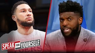 I blame 76ers franchise & fans for not embracing him — Acho on Simmons   NBA   SPEAK FOR YOURSELF screenshot 5