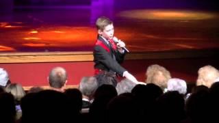 Colin Chandler sings Hello Darlin