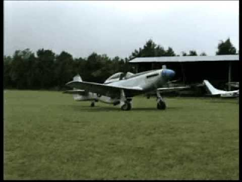 Alan Henley P-51 Flight And T-6 Formation Flying