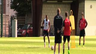What a goal by Jordon Ibe in training today