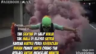 Gambar cover Tak gentar di salip ninja Tak malu di bleyer satria