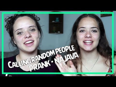 In the next video...Prank calling you!