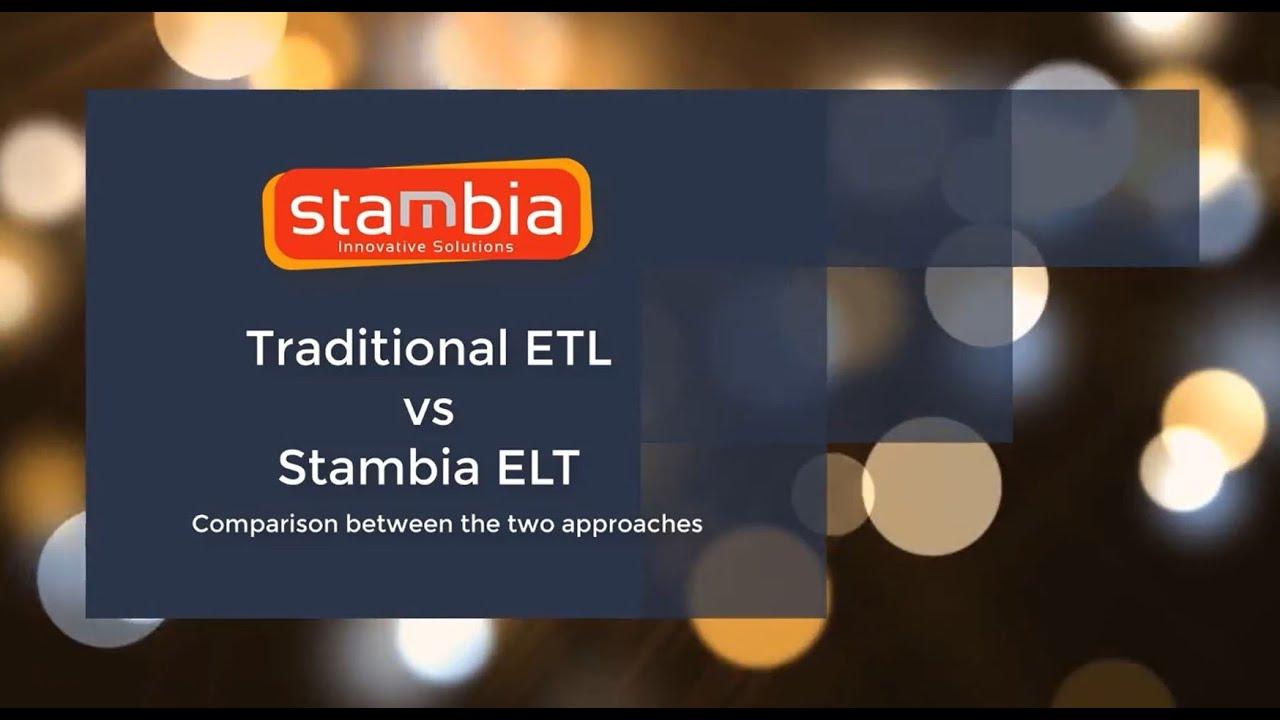 ELT versus ETL