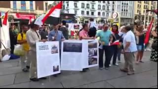 المصريون بإسبانيا يحتفلون بافتتاح قناة السويس الجديدة