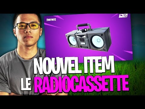 NOUVEL ITEM FORTNITE: LE RADIOCASSETTE