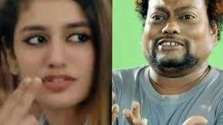 Oru adaar love kannada version. Priya prakash with sadhu kokila, kannada WhatsApp status