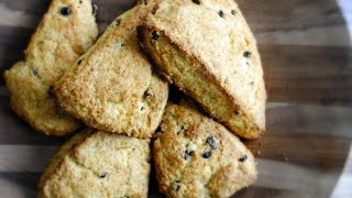 Orange Currant Scones