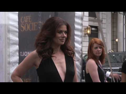 Café Society: Movie Premiere Celebrity Arrivals and Fashion Shots - Kristen Stewart, Blake Lively