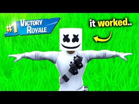 Marshmello's Impossible Challenge.. (Fortnite) Mp3
