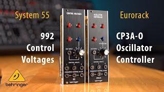 CP3A-O Oscillator Controller & 992 Control Voltages