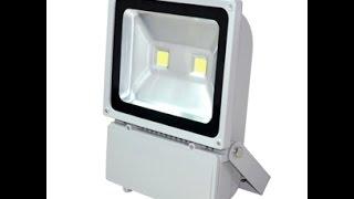 Купить светодиодный прожектор GEEN LF 100w(Приобрести данную продудукцию можно на сайте http://selstroy.com.ua Светодиодный прожектор LF-100 можно устанавливать..., 2014-09-19T11:32:33.000Z)