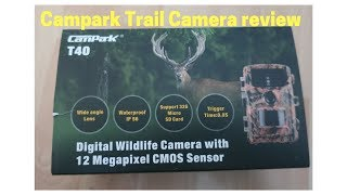 Campark Trail Camera review. Infrared Night Vision Surveillance Cam