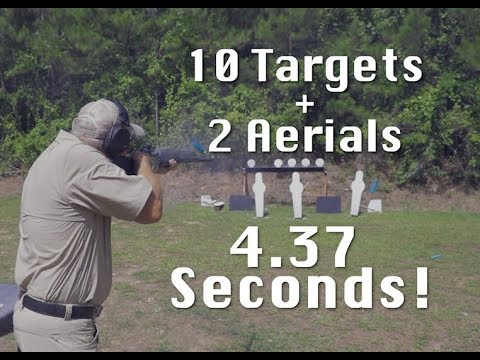 10 Targets... 2 Fliers... 1 Man and His Shotgun