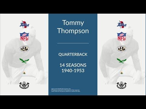 Tommy Thompson: Football Quarterback