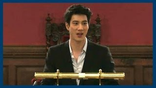 World Pop and Religion | Wang Leehom | Oxford Union - Stafaband