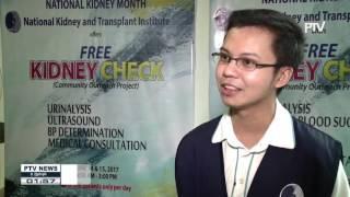 'Free Kidney Check' sa NKTI