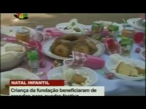 Orphans in Guinea-Bissau get suprised with christmas dinner and gifts